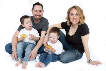 Una vida de familia contada en Instagram