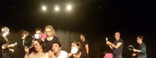 'Piedras', danza inclusiva con el colectivo Aspadir