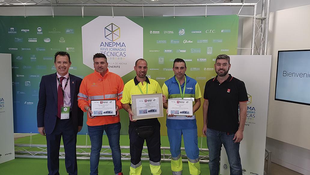 Premio a un conductor de Rivamadrid