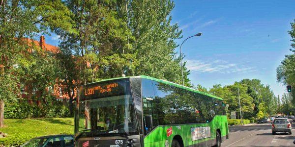 Nuevas paradas en las líneas 331, N301 y urbana 1
