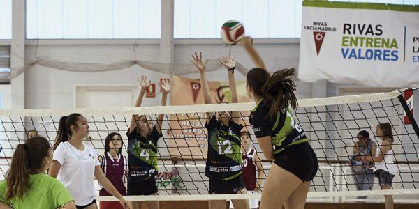 Rivas se mueve: torneos deportivos de Navidad
