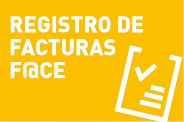 Registro de facturas F@CE