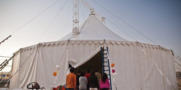 Clases de circo para la infancia