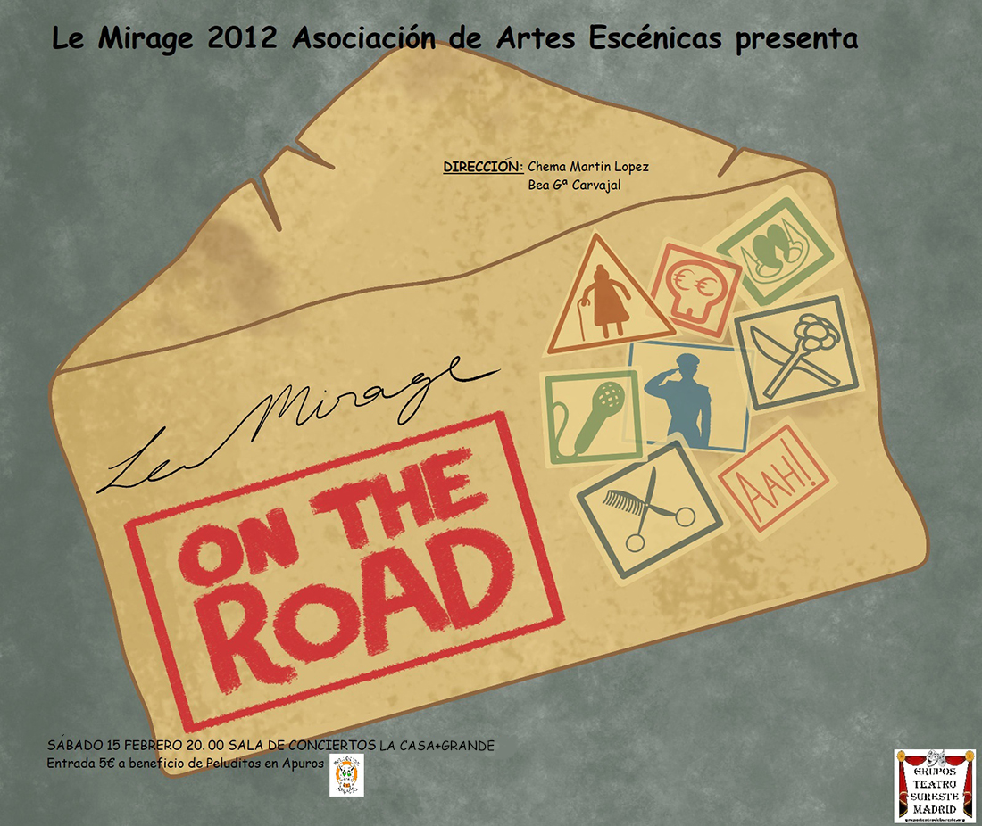 'Le Mirage: on the road', humor teatral joven