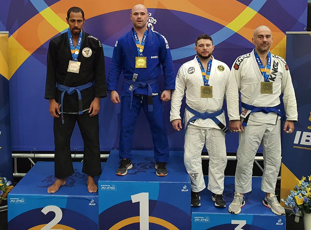 Julián Málaga: campeón de Europa de jiu jitsu brasileño