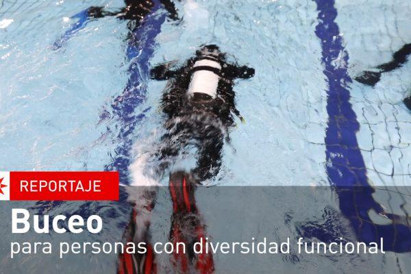 Buceo para personas con diversidad funcional