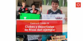 Los clubes y deportistas de Rivas dan ejemplo