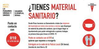 El Ayuntamiento recoge material médico de empresas y ripenses para personal sanitario