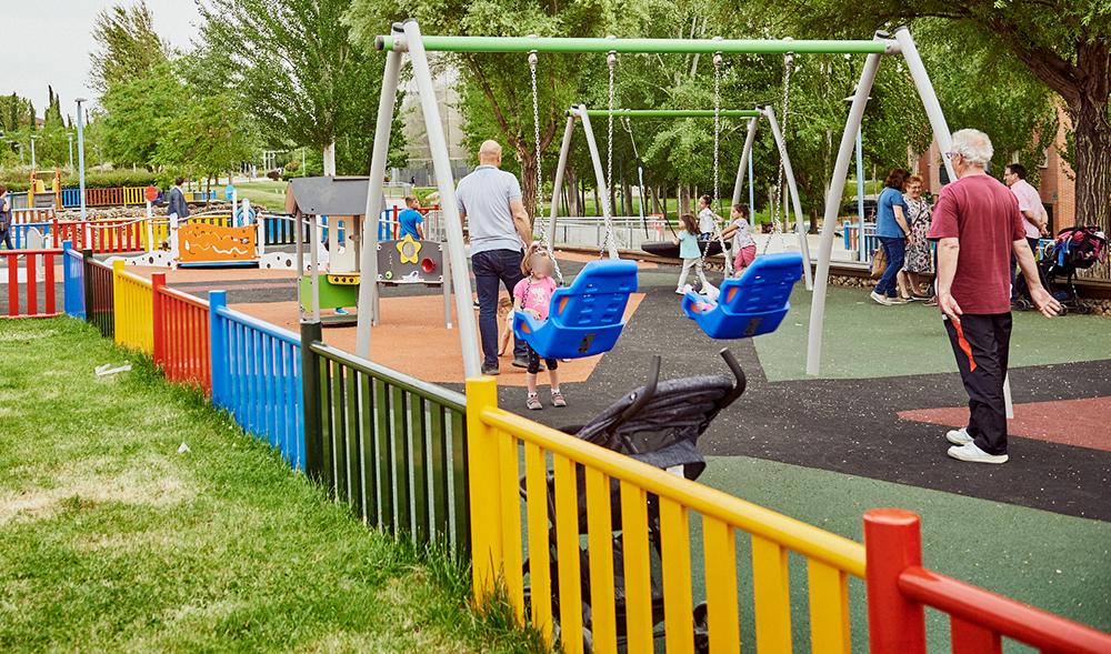 Rivas cierra los parques infantiles del municipio