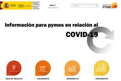 Plataforma digital para pymes ante el COVID-19