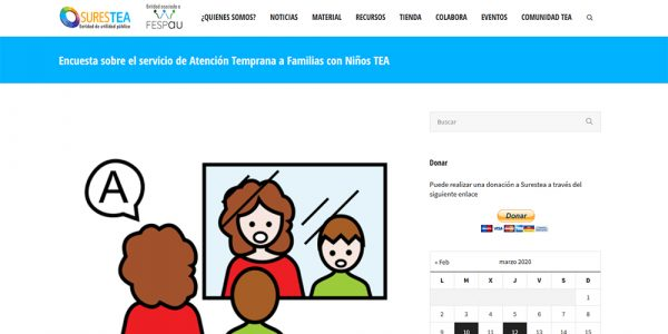 Encuesta para la infancia con autismo: situación educativa
