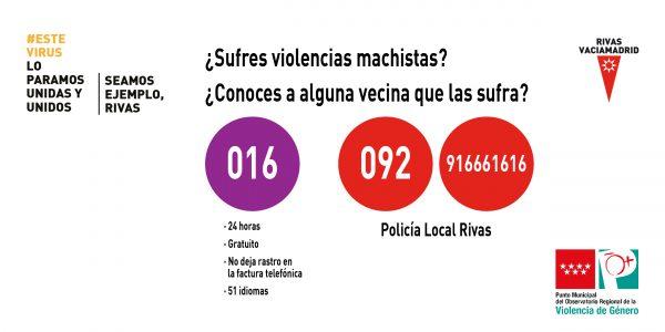 Colaboración ciudadana ante las violencias machistas