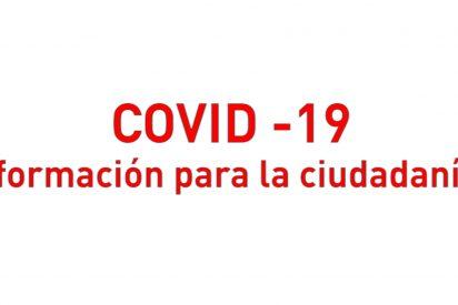COVID-19 Información para la ciudadanía