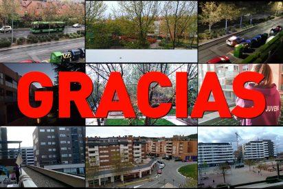 Gracias, Rivas: así aplaude una ciudad a las ocho de la tarde