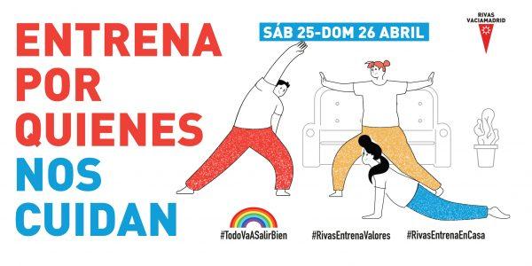 El deporte de Rivas lanza un reto: inundar las redes sociales