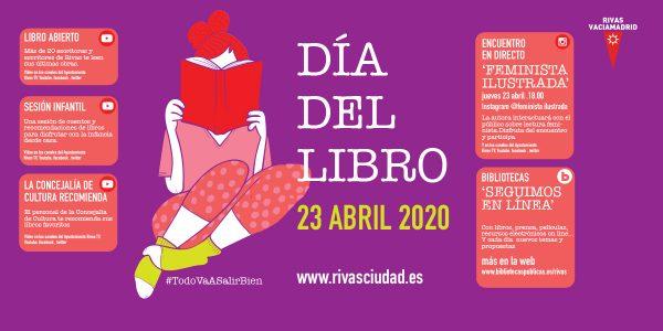 Rivas celebra el Día del Libro por internet