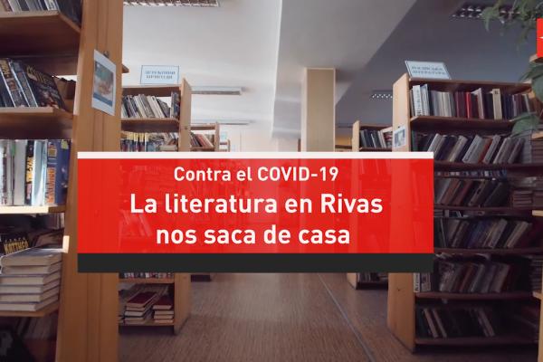 La literatura en Rivas nos saca de casa