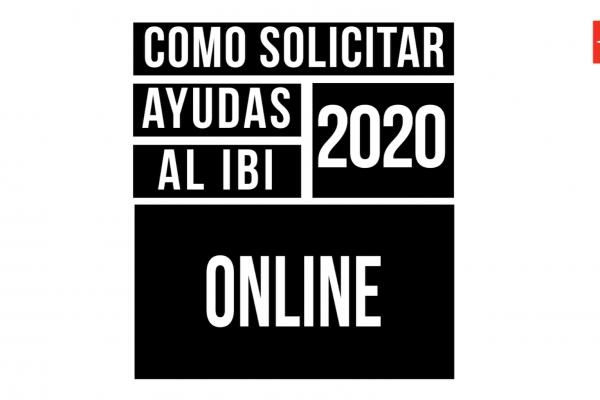 Cómo solicitar ayudas al IBI 2020 online