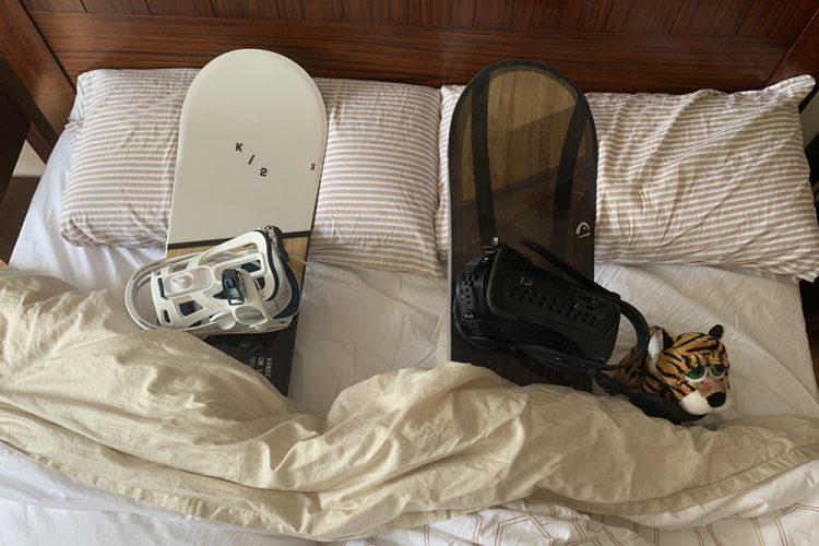 Cómo guardar el material de esquí o snowboard