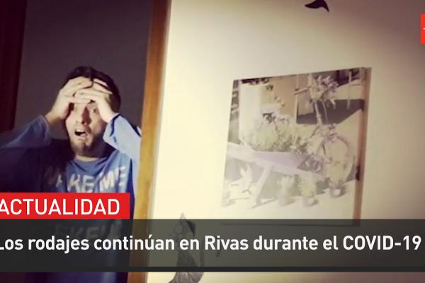 Los rodajes continúan en Rivas durante la cuarentena