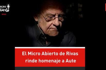 El Micro Abierto de Rivas rinde homenaje a Aute