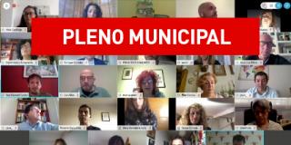 Pleno municipal ordinario 28 mayo 2020