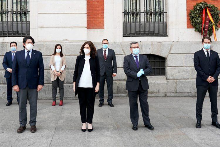 Rivas pide a Ayuso un fondo de contingencia que ayude a los municipios a salir de la crisis
