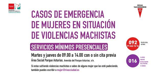 Abre con servicios mínimos el Punto de Atención a mujeres en situación de violencias machistas