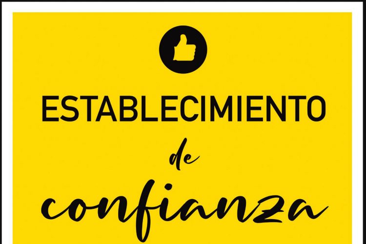 Campaña municipal 'Establecimiento de Confianza' ante la reapertura del comercio y la hostelería