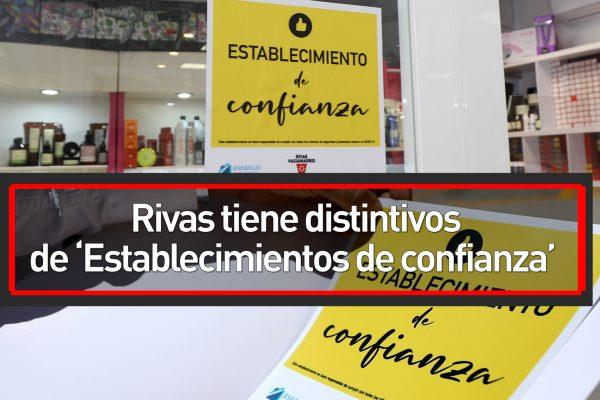 Rivas tiene distintivos de 'Establecimientos de confianza'