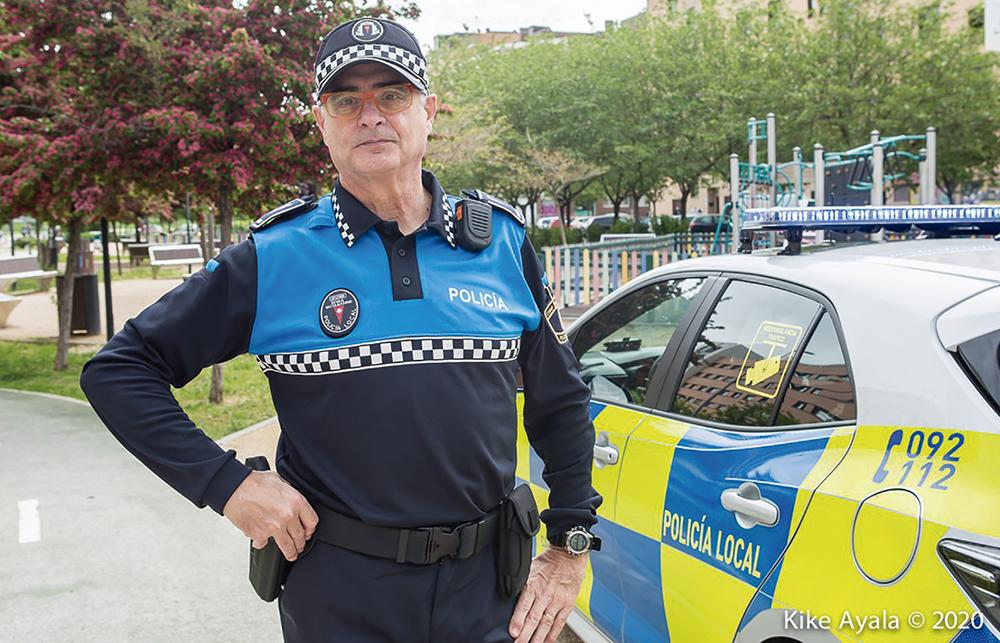 El jefe de la Policía Local: