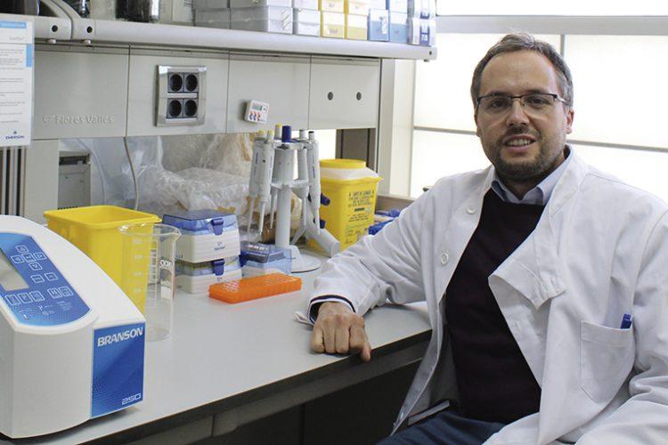 Raúl Alelú-Paz, el científico de Rivas que lucha contra el virus