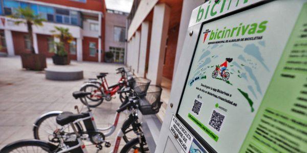 Vuelve con mejoras BicinRivas, el servicio municipal de bicicletas