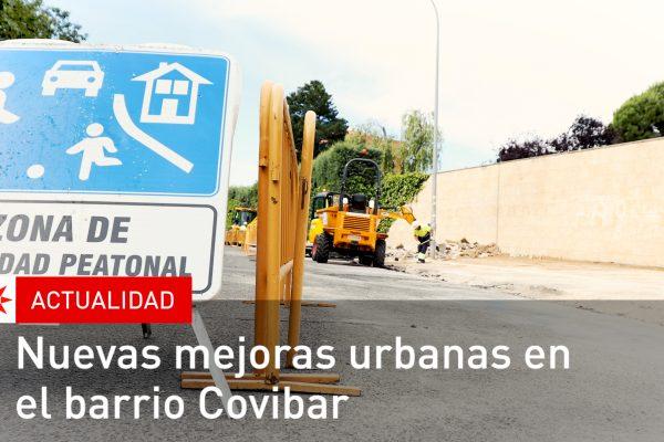 Nuevas mejoras urbanas en el barrio Covibar