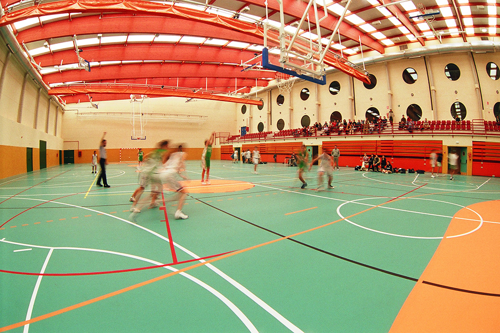 Nueva cubierta para el polideportivo Parque del Sureste