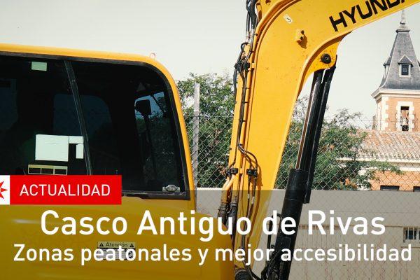 Casco Antiguo de Rivas. Zonas peatonales y mejor accesibilidad