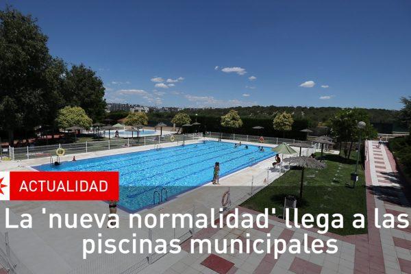 La 'nueva normalidad' llega a las piscinas municipales