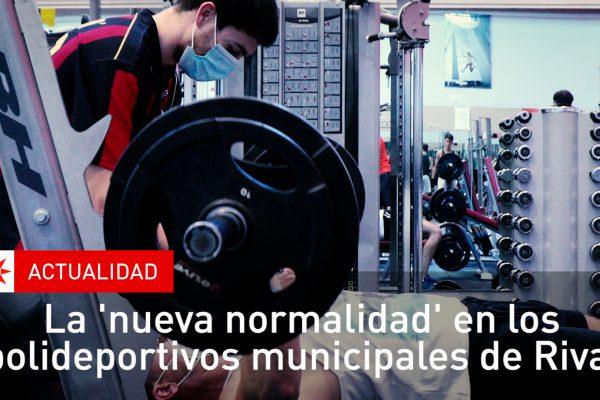 La 'nueva normalidad' en los polideportivos municipales de Rivas