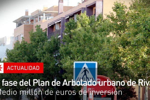 II fase del plan de arbolado urbano en Rivas
