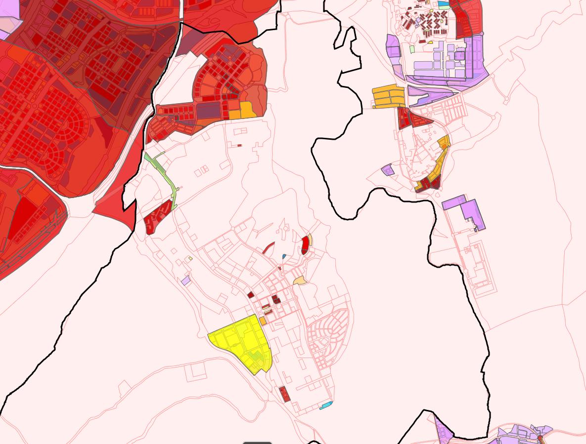 Mapa de Ordenación y Planeamiento