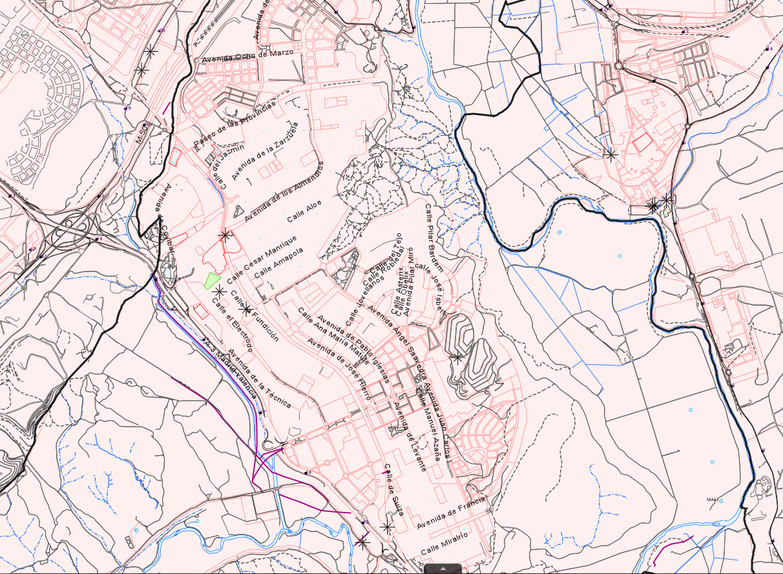Mapa de Servicios e Instalaciones