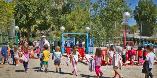 Rivas habilita un stock permanente de mascarillas para centros educativos