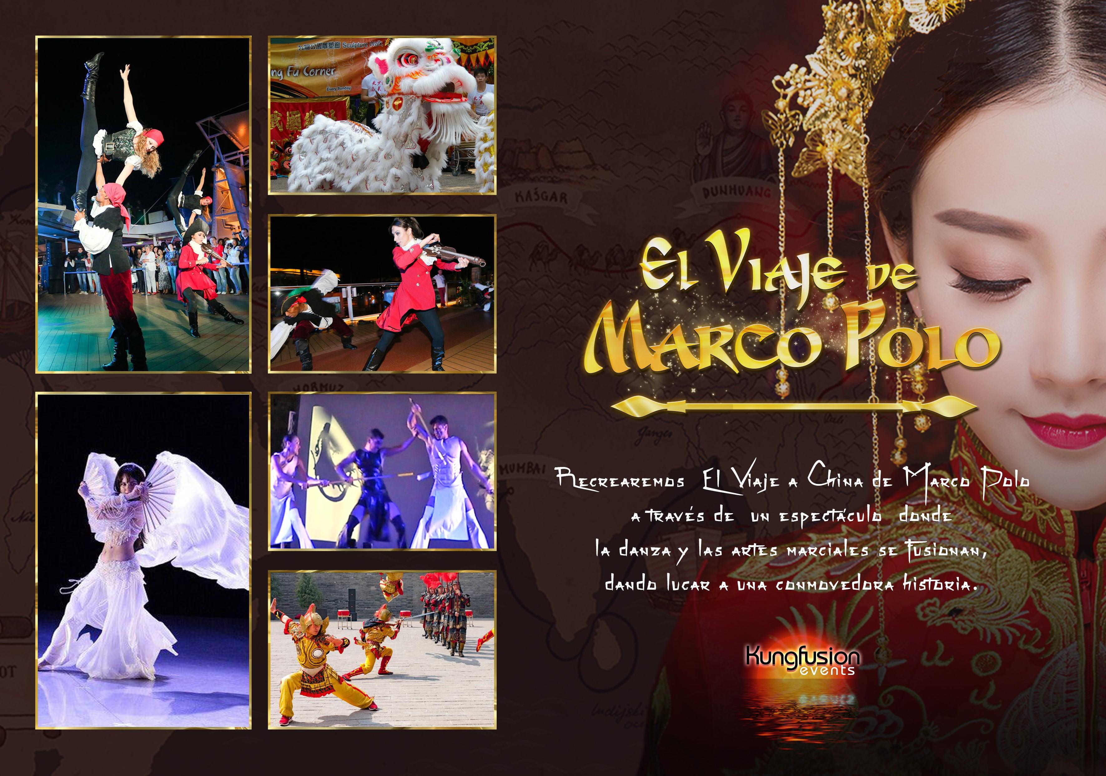 Danza y artes marciales: 'El viaje de Marco Polo'
