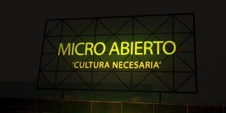 Micro Abierto próximo 29 de octubre