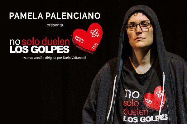Pamela Palenciano y su obra 'No solo duelen los golpes'