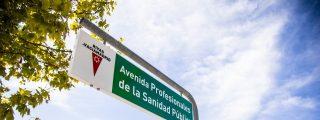 La avenida de Juan Carlos I ya se llama Profesionales de la Sanidad Pública