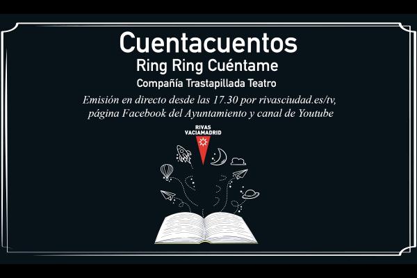 Cuentacuentos en la Gloria Fuertes. Ring Ring Cuéntame