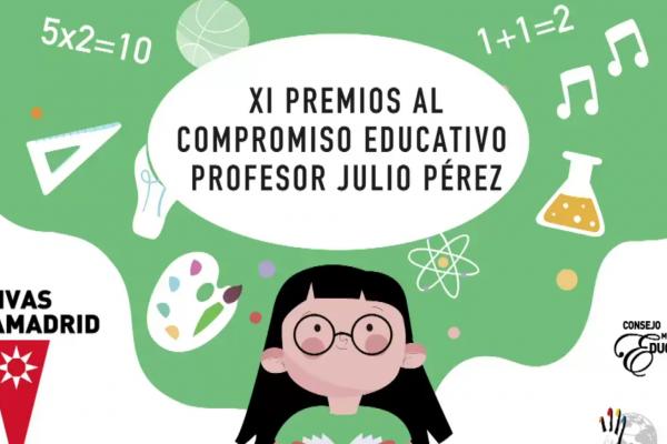 XI Premios compromiso educativo Profesor Julio Pérez
