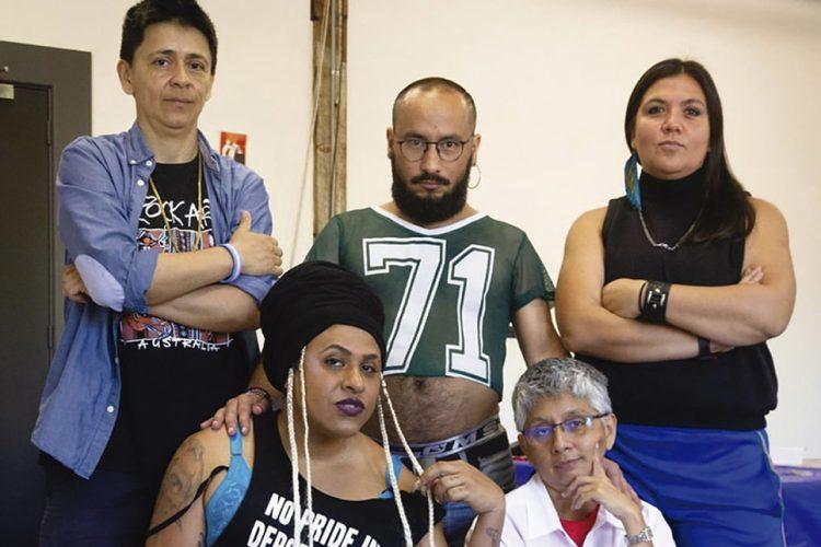 """Colectivo artístico Ayllu: """"La heterosexualidad es parte del proyecto colonial"""""""