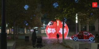 Acto de encendido de luces de Navidad en Rivas